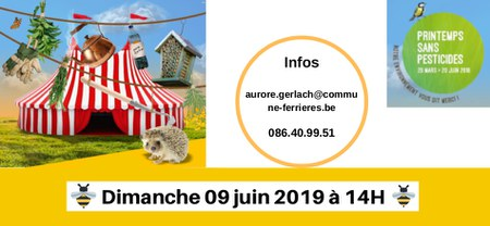Printemps sans pesticides 2019