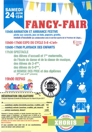 Fancy-Fair de l'école de Xhoris